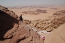 Hiking in Wadi Rum - Wadi Rum Desert Tours