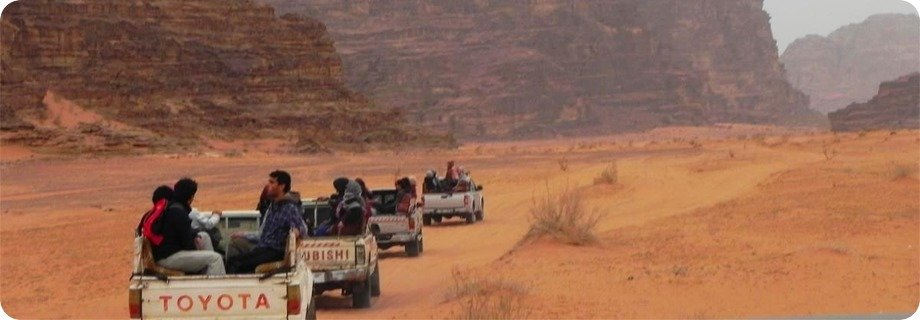 Wadi Rum Desert Tours Jeep Overnight