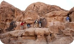 Wadi Rum Desert Tours Hiking Scrambling
